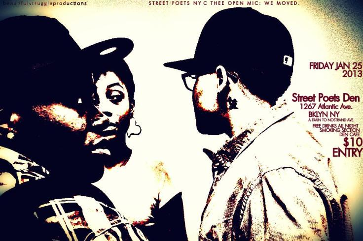 STREET POETS NYC: THEE OPEN MIC! Dear Original Den Family. We Got You. Click Here