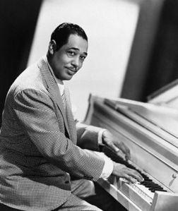 Duke Ellington Playing Piano