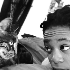 Talks to her Cat? My N*@#1 -_-